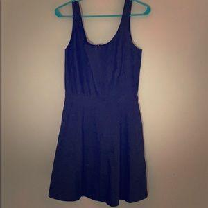 GAP navy blue  a-line dress